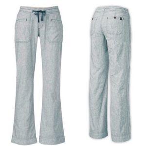 The NORTH FACE Linen Larison Navy Striped Pants